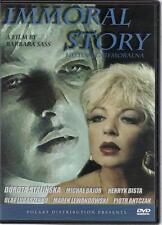 Historia niemoralna - Immoral Story (DVD) 1990 Dorota Stalinska POLSKI POLISH