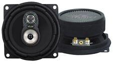 "Pair 4"" inch Premium 3-Way Car Audio Stereo Radio Replacement Speakers HQ Sound"