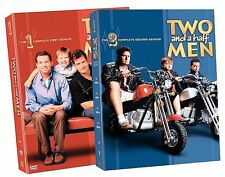 Two and a Half Men - The Complete Seasons 1-2 (DVD, 2008, 8-Disc Set, Back to...