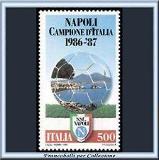 1987 Italia Repubblica Scudetto Napoli Campione Calcio