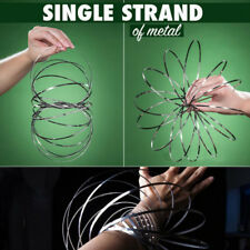 Flow Arm Kinetic Ring Spring Toy 3D Sculpture Ring Toroflux Slinky Flowtoys Hot