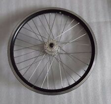 "20"" bike /E-bike front disc wheel  Dt swiss 14g spokes / 36H  Quando hub silver"
