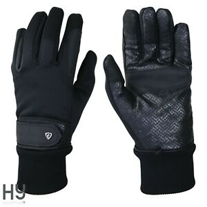 Thinsulate™ Rainstorm Gloves by Hy Equestrian – Ideal For Yard Jobs or Riding