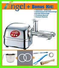 ANGEL 5500 - Juicer Entsafter Edelstahl Saftpresse inkl. Bonus Silber