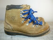 70s VASQUE Gretchen Vintage 6235 Hiking Backpacking Stomper Leather Boots Size 7