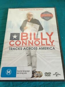 BILLY CONNOLLY TRACKS ACROSS AMERICA - 2DISC COMPLETE SERIES - New FREE STD POST