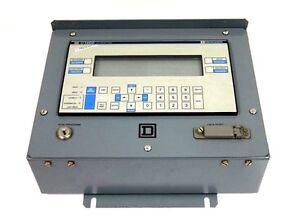 SQUARE D 52046-170-50 V.1.02 C1600 DATA ENTRY PANEL CCX 17 W81491349 5204617050