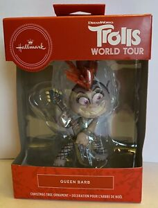 Queen Barb Hallmark 2020 Ornament Trolls World Tour - NEW - 2HCM7885
