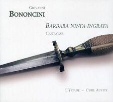 Cyril Auvity - Barbara Ninfa Ingrata: Cantatas for Tenor & Ins [New CD] Digipack