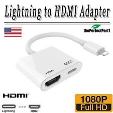 Lightning to HDMI Adapter Digital AV TV Adapter Cable for iPhone 7 8 XS XR iPad