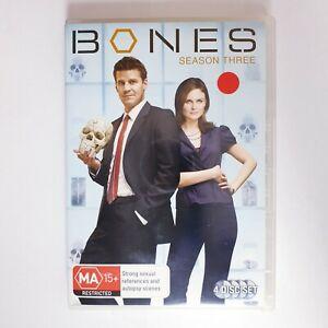 Bones Season 3 DVD Region 4 AUS TV Series - Crime Detective