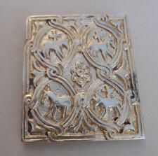ancien bijoux broche bronze de Jeanne Peral n°4