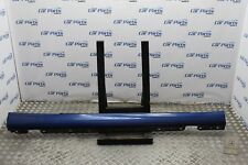 MERCEDES C W203 02-09 COUPE DRIVER SIDE SIDE SKIRT IN BLUE C345