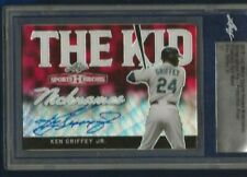 2018 Leaf Metal Sports Heroes Ken Griffey Jr. Auto #d 1/1 Slabbed Red Wave