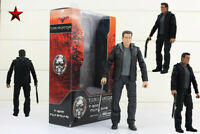 New NECA Arnold Schwarzenegger Action Figure Terminator T-800 Guardian Cute Box