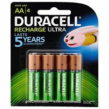 Duracell Recharge Ultra AA Batteries - 4/Pack