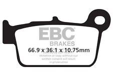 Ajuste sencillo de T.M. SMR 530 F 10 > 15 EBC Sinterizado Pad Set Derecho