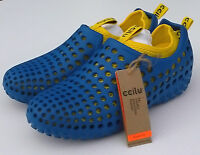 CCILU Blue Lightweight Amazon Shoes + Removable Lining Girl's US J2 (CM21) #41