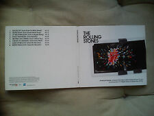 ROLLING STONES – American Express promo cd + FREE SET LIST