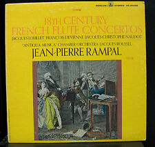 Rampal - 18th Century French Flute Concertos LP VG+ Mercury Living Stereo 90458