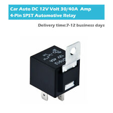 DC 12V 30A 40A AMP 4 Pin Car Auto Relay SPST Normal Open Battery Isolator 1Pc