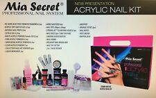 Kit Profecional Para Uñas Acrilicas  Mia Secret