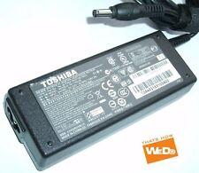 Caricabatterie ORIGINALE alimentatore per TOSHIBA PA3715E-1AC3 - 19V 3.95A 75W
