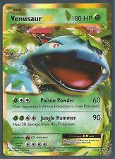 VENUSAUR EX 1/108 -XY EVOLUTIONS Pokemon Card RARE HOLO MINT