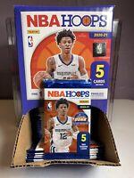 NBA 2020-21 Panini Hoops- (1) 5 Card Gravity Pack- 1 YELLOW PARALLEL PER PACK!