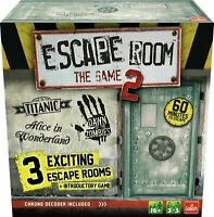 Goliath Games Escape Room The Game Within 60 Minutes Solving Puzzles And Riddle
