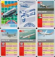 """F.X. Schmid Spielkarten """"Flugzeuge"""" 1995 (S, Quartett-Nr. 50134.4) Z 0-1"""