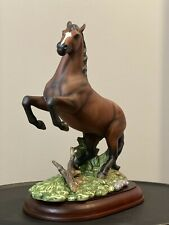 Homco 1997 The Champion Mustang Horse Masterpiece Home Interior Vingage Figurine
