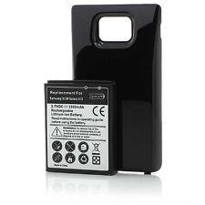 Samsung Galaxy S2 SII Power Akku 3500mAh Akkudeckel i9100 Ersatzakku schwarz