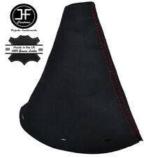 RED STITCH SUEDE MANUAL GEAR GAITER SHIFT BOOT FITS VOLKSWAGEN VW CADDY 03-14