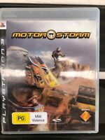 MotorStorm PS3 PlayStation 3 Game Great Condition