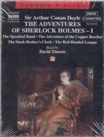 Adventures of Sherlock Holmes I Arthur Conan Doyle 4 Cassette Audio Book NEW
