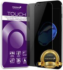 Fosmon Para iPhone 8 Plus Protector De Pantalla Anti Espia Privacidad Protector de vidrio templado