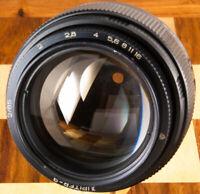 ⭐⭐⭐⭐⭐ JUPITER-9 85mm f2.0 Russia USSR sonnar lens M42 dslr Canon Pentax Sony Nex
