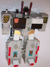Vintage 1985 Generation 1 Metroplex Transformers Action Figure - Autobot City