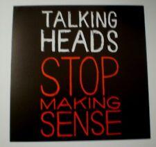 """Talking Heads : Stop Making Sense 1984 Original 12"""" Promo Flat Poster"""