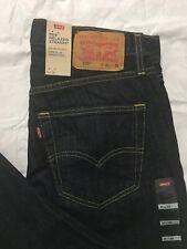 Levis 559 Jeans Mens 31x32 Relaxed Fit Straight Leg Dark Wash Below Waist NWT