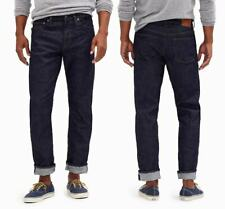 J. Crew 1040 Stretch Denim Men's Straight Athletic Fit Jeans Indigo NEW 33x32