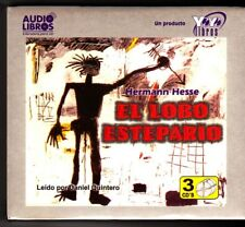 El Lobo Estepario (Steppenwolf) by Hermann Hesse (Audio Libros) NEW / SEALED