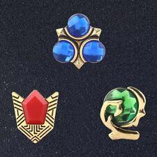 Large High Quality Zelda Ocarina Pin Set - Gift Bag - Nintendo - Cosplay - N64
