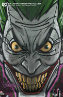 JOKER YEAR OF THE VILLAIN 1 DC Jeehyung Lee Graffiti Variant John Carpenter