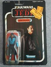 Vintage Kenner Star Wars ROTJ Lando Calrissian MOC bubble dent