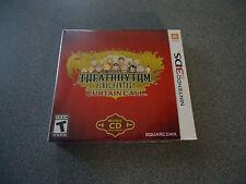 Theatrhythm Final Fantasy Curtain Call Lt.Ed. (Nintendo 3DS 2014) FREE Music CD
