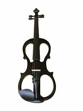Zest Starter 4/4/étudiant Electric Silent Violin METALLIC BLACK GRADE B