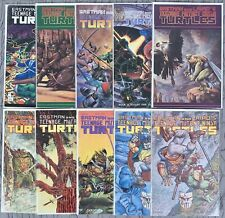 TEENAGE MUTANT NINJA TURTLES Comic Lot (10) Copper Age, Mirage Studios, Nice Lot
