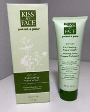 Kiss My Face Potent & Pure Start Up Exfoliating Face Wash 4 fl oz Normal To Oily